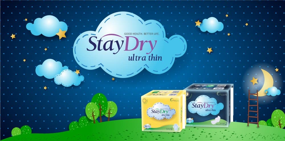 Stay Confident, Stay Free...StayDry