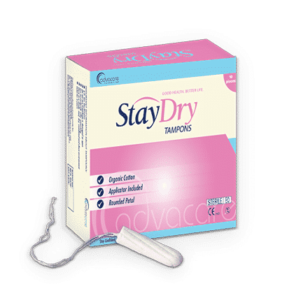StayDry Tampons